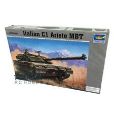 Trumpeter 00332 1/35 Italian C1 MBT Tank Static Model Armor Kit 120MM Smoothbore