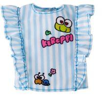 Barbie Hello Kitty Fashion Pack Blue & White Stripe Keroppi Top  New