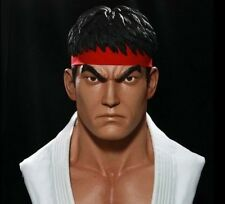 Pop Culture Shock Ryu Life Size Bust 1:1 Scale, Street Fighter, Capcom. Sideshow
