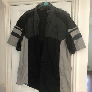 Harley Davidson mens ventilated shortsleeved shirt size 3XL