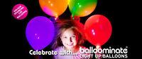 Balloominate Long Lasting High Quality LED Light Up Balloons