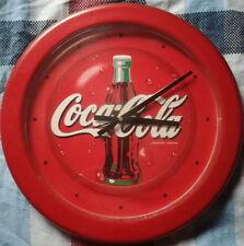 Coca Cola Wanduhr Durchmesser ca.40cm