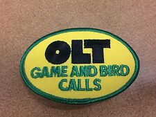 Ps Olt Company Yellow And Green Duck And Goose Call Patch! Mint!