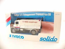 Solido n°3307 • Iveco 190 PAC 26 Esso 4x4 Transafrica   • neuf boite / boxed MIB