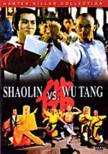 Shaolin Vs Wu Tang Hongkong seltene Kung Fu Martial Arts Action Film-Neue DVD