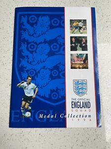 The Complete Official England Squad Medal Collection 1996 Mint