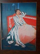 ►ELLE 111/1948 - JEAN MARAIS - ANNABELLA - MODE FASHION VINTAGE