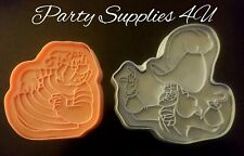 Disney Captain Hook & Smee plastic cutter. Cakes/Pirate/biscuits/fondant/cookies