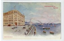 EXCELSIOR HOTEL, NAPLES: Italy advertising postcard (C16757)