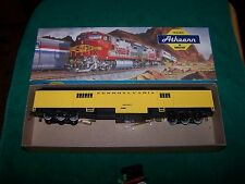HO Scale Model work train r.p.o pennsylvania 492457