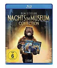 Blu-ray * Nachts im Museum 1-3 / Teil 1+2+3 * NEU OVP * Ben Stiller