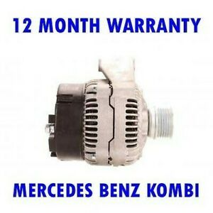 FITS MERCEDES BENZ KOMBI 200 220 300 1986 1987 1988 - 1993 ALTERNATOR