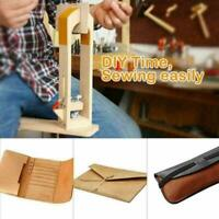 Desktop Lacing Leather Hand Table Stitching Sewing Horse Clamps Crafts Pony O7N5