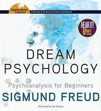 DREAM PSYCHOLOGY unabridged audio book CD by SIGMUND FREUD - Brand New! 6 Hours!