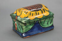 Ceramic Sunflower Trinket Box