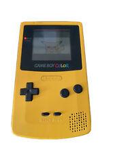 Nintendo Game Boy Colour Yellow Inc. Pokemon Yellow, Zidane Football Generation