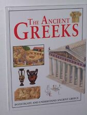 The Ancient Greeks - illustrated guide / hardback book,