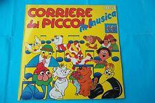 CORRIERE DEI PICCOLI IN MUSICA 80° ANNIVERSARIO LP 1988 BMG NUOVO