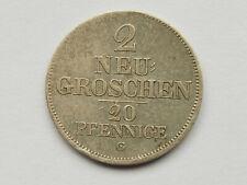 L2406       SACHSEN 2 Neugroschen 1844
