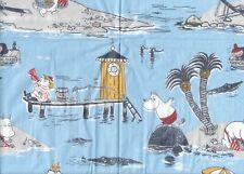 2 Lunch Paper Servietten Napkins (ZZv24) Moomins machen Urlaub am Wasser