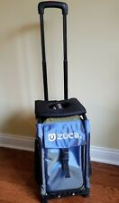 Zuca Bag AND Frame AND Seat Cover- light up wheels. Excellent Condition.