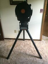 """Celestron 8"""" 2000mm f/10 Telescope with tripod, mount, and lenses"""