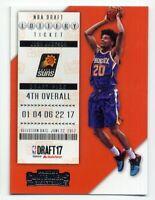 2017-18 Contenders JOSH JACKSON Rookie Card RC LOTTERY TICKET Phoenix Suns #4 SP