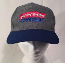 Melton Snapback Hat Cap Pro Cycle Wool Blend