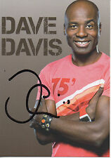 Autogramm - Dave Davis