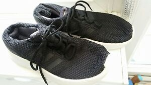 Adidas Cloudfoam Size 4 ~ Slight Wear