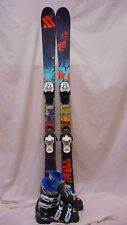 Used JR Volkl Wall Twin Tip 138cm ski with Nordica Tj 23.5 Blk Ski Boots
