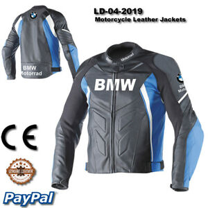 BMW motorcycle leather racing jacket LD-04-2019 ( US 38-48 )