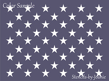"Patriotic REC. STENCIL (50) 1"" Star American Liberty Flag USA Country Art Sign"