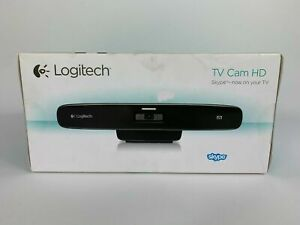 NEW Logitech TV Cam HD HDMI Optics Webcam Camera Skype Video Chat