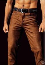 Pantaloni, Lederhose, Arizona, Tg. 58, 100% pelle di bufalo, NUOVO