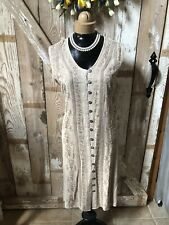 Vintage Style Coline Fawn Beige NWT Dress/Sundress Size Medium