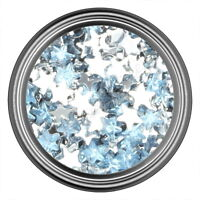 Teal Star Rhinestone Gems Flatback Face Art Nail Art Jewels Decoration