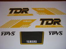TDR 240/250   YAMAHA  EMBLEMES COMPATIBLE / DECAL FUEL TANK/  AUFKLEBER