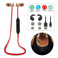 Sport Headset Wireless Stereo Earbuds for iPhone X XR 8 Galaxy S9