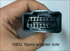 SsangYong OBD-I 20-pin to OBD-II 16-pin Female Connector Adapter Cable