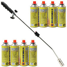 Weed burner killer wand butane gas blowtorch garden outdoor weeds moss fungus