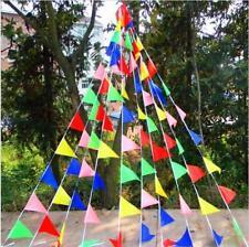 10 METRI 20pc Multi Colore Bunting Bandiera Striscione Decorazione Festa Matrimonio Compleanno