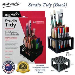 Mont Marte Studio Tidy Desk Organizer Markers Pencils Painting Brushes Holder