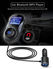 Car Audio Music FM Transmitter Bluetooth Handsfree Calling USB Charger for Phone