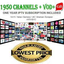 Best IPTV Subscription For Smart tv, Phones, Mag, enigma, Pc, android + Gift