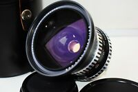 RARE ZEBRA CARL ZEISS JENA FLEKTOGON 4/50 mm Wide Angle Pentacon SIX mount SUPER