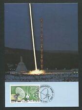 SCHWEDEN MK WELTRAUM RAKETE SPACE ROCKET MAXIMUMKARTE MAXIMUM CARD MC CM d4568