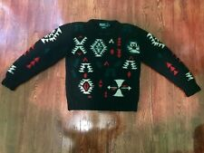 VERY RARE Polo Ralph Lauren Soutwestern/Navajo/Aztec Sweater XL (Fits Like M/L)
