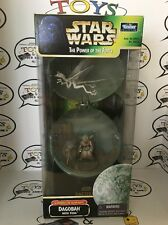 Star Wars POTF Dagobah with Yoda -Complete Galaxy MIB Sealed- Power of the Force