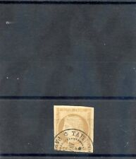 TAHITI, FORERUNNER YT22 15c BISTRE 2NOV80  TAITI CDS, THIN SPECK IN MARGIN $300